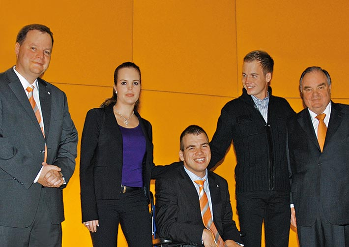 Andreas, Bianca, Christoph, Thomas und Ulrich Bettermann