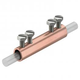 Längsverbinder Rd 8-10 mm Cu