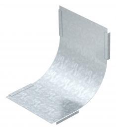 Deckel für 90°-Vertikalbogen, steigend FS