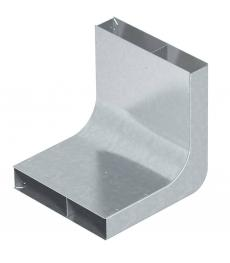 Vertikalkrümmer, 2-zügig, Höhe 48 mm
