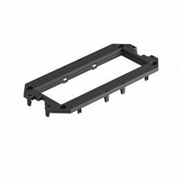 Abdeckplatte für Universalträger UT3, Modul 45®-Einbauöffnung