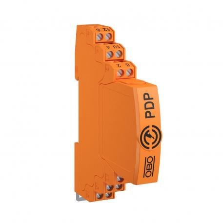 Steckbarer Datenleitungsschutz, 2-polig, direkte Erdung