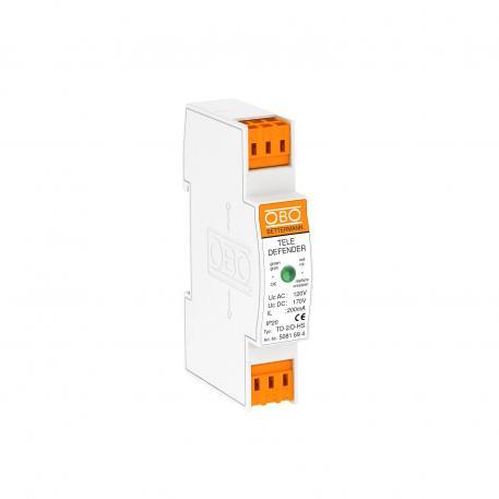 Kombischutzgerät für ISDN- und DSL-Systeme