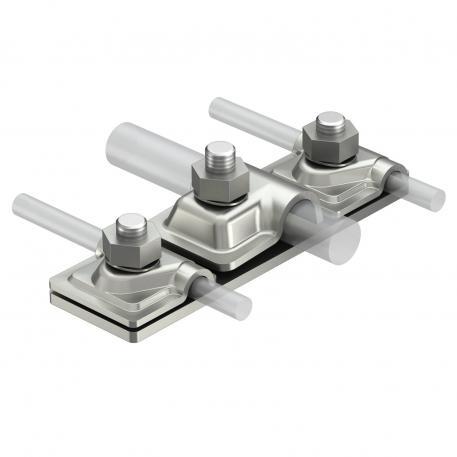 Anschlussplatte für zwei isCon®-Leitungen