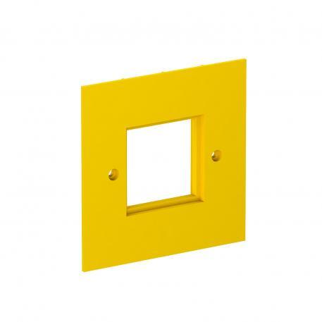 Abdeckplatte VH, für Einbaugeräte Modul 45, 1-fach