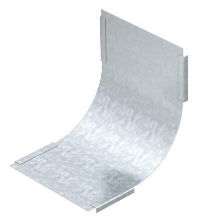 Deckel für 90° Vertikalbogen, steigend FS