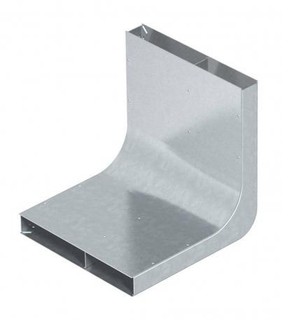 Vertikalkrümmer, 2-zügig, Höhe 38 mm