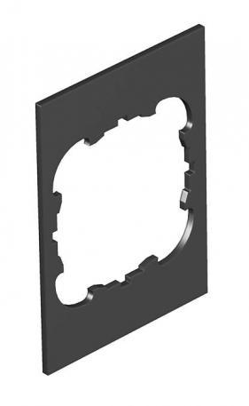 Abdeckplatte Telitank T4B, runde Einbauöffnung für EK-Gerät