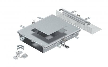Anbaueinheit für GES9, Höhe 100-150 mm